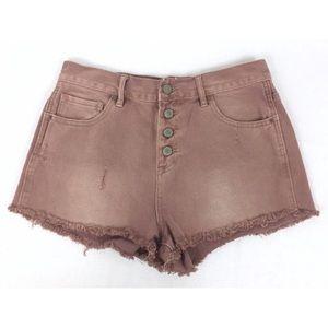🛍Bullhead Short Shorts 11 Inch High Rise Cut Off